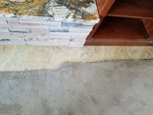 Albuquerque Carpet to new tile transition